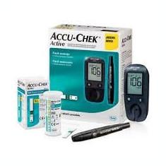Glucometru Accu-chek Active + 50 teste glicemie