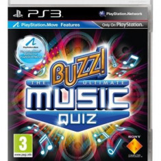 Buzz – The Ultimate Music Quizz - PS3 [Second hand] - Jocuri PS3, Board games, Toate varstele, Multiplayer