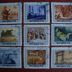 LOT TIMBRE CHINA - Timbre straine, Stampilat