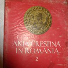 Arta crestina in Romania vol.2/237pag/102planse/an 1981
