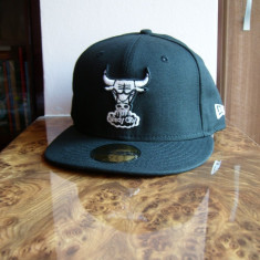 Sapca New Era Chicago Bulls originala marime 7 3/8 - 58.7 cm - Sapca Barbati, Marime: Alta, Culoare: Negru