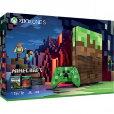 Consola Microsoft Xbox One Slim 1 Tb Custom Minecraft + Minecraft (Download Code)