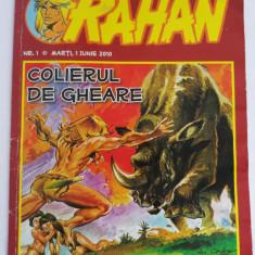 Revista benzi desenate Rahan - Colierul de gheare, Nr. 1, 1 iunie 2010 - Reviste benzi desenate