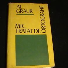 MIC TRATAT DE ORTOGRAFIE-AL. GRAUR-175 PG-, Alta editura