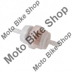 MBS Filtru benzina 6mm cilindric-transparent, tip 2, Cod Produs: MBS050308 - Filtru benzina Moto
