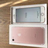 Iphone 7 256gb rose gold neverlocked NOU GARANTIE 06/2018 - Telefon iPhone Apple, Roz