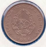 (R) MONEDA ROMANIA - 50 BANI 1956, STARE FOARTE BUNA, LIVRARE IN CARTONAS