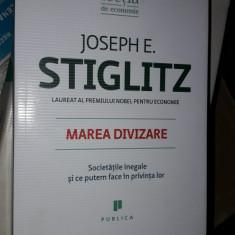 MAREA DIVIZARE - JOSEPH E. STIGLITZ. CARTE APROAPE NOUA NOUTA . - Carte Marketing