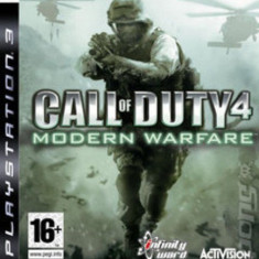 Call of Duty 4 Modern Warfare - PS3 [Second hand] - Jocuri PS3, Shooting, 18+, Multiplayer