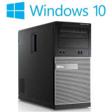 Calculatoare refurbished Dell OptiPlex 390 MT, Intel i3-2100, Win 10 Home - Sisteme desktop fara monitor