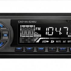 Radio MP3 auto AKAI CA014A-6246U, USB, SD, negru - CD Player MP3 auto