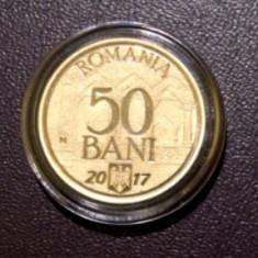 50 bani 2017 - 10 ani de la Aderare, PROOF - Moneda Romania