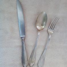 Tacam argint de **1 persoane - 18