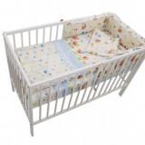 Lenjerie Mykids Baby Teddy Crem 4 Piese 140X70 - Lenjerie pat copii