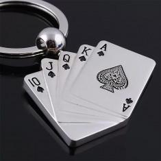 Breloc Poker metalic