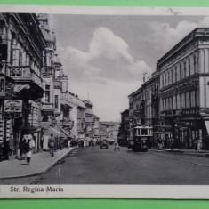 Cernauti Strada Regina Maria, Circulata, Printata, Romania 1900 - 1950