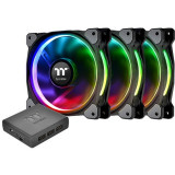 Ventilator pentru carcasa Thermaltake Riing Plus 12 RGB Radiator Fan TT Premium Edition 3 Fan Pack