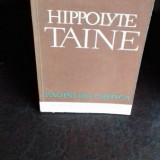 TAINE - HIPPOLYTE