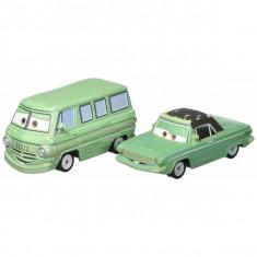 Set de masinute metalice Dusty si Rusty Disney Cars 3 - Masinuta