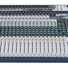 Mixer audio Soundcraft Signature 22 + Hard Case de protectie