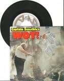 """Captain Sensible's - Wot! (1982, A&M Rec.) Disc vinil single 7"""" New Wave, Disco"""