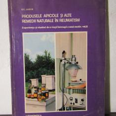 D.C.JARVIS - PRODUSELE APICOLE SI ALTE REMEDII NATURALE IN REUMATISM