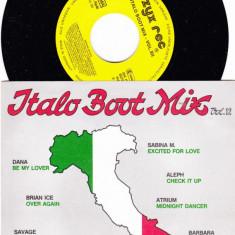 Italo Boot Mix Vol.12 (1988, ZYX) Disc vinil single 7