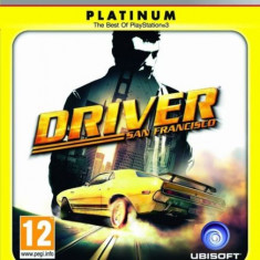 Driver San Francisco PLATINUM - PS3 [Second hand] fm - Jocuri PS3, Actiune, 18+, Multiplayer