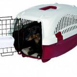 Cusca transport avion pisici caini mici - Geanta si cusca transport animal