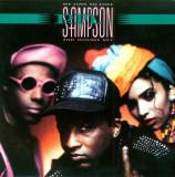 "P.M. Sampson - We love to love (1990, CBS) Disc vinil single 7"" Pop Rap"