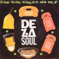 De La Soul - Ring Ring Ring (1991, EastWest) Disc vinil single 7