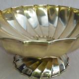 Vas mare ornamental, din alama, Metall-art