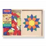 Sabloane si Forme Geometrice din Lemn - Jocuri Logica si inteligenta