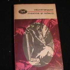MAXIME SI REFLECTII-VAUVENHAR GUES-973-236 PG- - Carte Proverbe si maxime