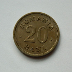 20 bani 1900 Romania, XF - Moneda Romania