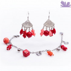 Set Charming Coral