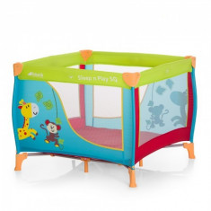 Tarc Sleep and Play SQ Jungle Fun - Tarc de joaca Hauck