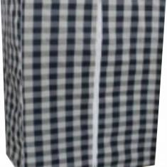 Dulap haine textil cu model E-004