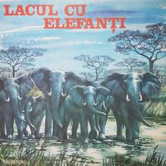 LACUL CU ELEFANTI - Mihai Tican Rumano (DISC VINIL) - Muzica pentru copii