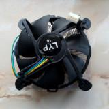 Cooler CPU socket LGA 775 / 1155 / 1156 cu talpa de cupru