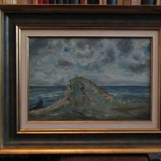 IOSIF STEURER -STANCA LA MARE - Pictor roman, Peisaje, Ulei, Altul