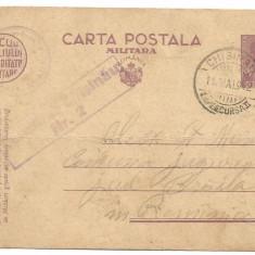 (A) carte postala(militara)- Cenzura Chisinau 1942 - Carte postala tematica, Circulata, Printata