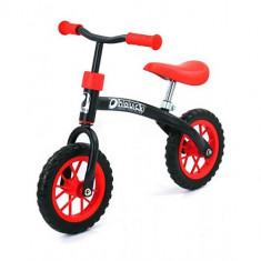 Bicicleta fara Pedale E-Z Rider 10 Black Red - Bicicleta copii Hauck