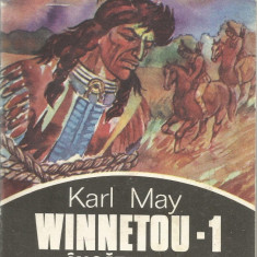 Carte - Karl May - Winnetou incatusat - Ed. Minerva 1992 - 261 pag. - Roman