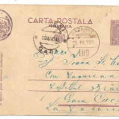 (A) carte postala(militara)- Stampila Bazargic 1939 - Carte postala tematica, Circulata, Printata