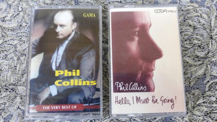 PHIL COLLINS . CASETA AUDIO 2 BUCATI