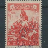 1956 Romania,LP 405-Comuna din Paris -stampilat
