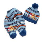 Set caciula cu fular Disney Winie The Pooh albastru