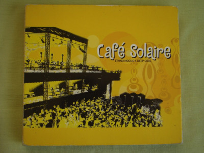 CAFE SOLAIRE - Ethno Moods And Deep Cool - 2 C D Originale foto