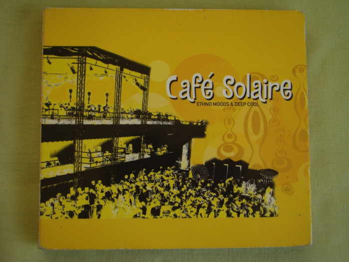 CAFE SOLAIRE - Ethno Moods And Deep Cool - 2 C D Originale
